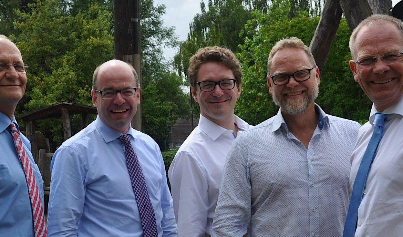 Übergabe der Spende von Rotary Club Köln Dom