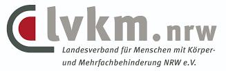 Logo von lvkm.nrw, Landesverband für Menschen mit Körper- und Mehrfachbehinderung NRW e.V.