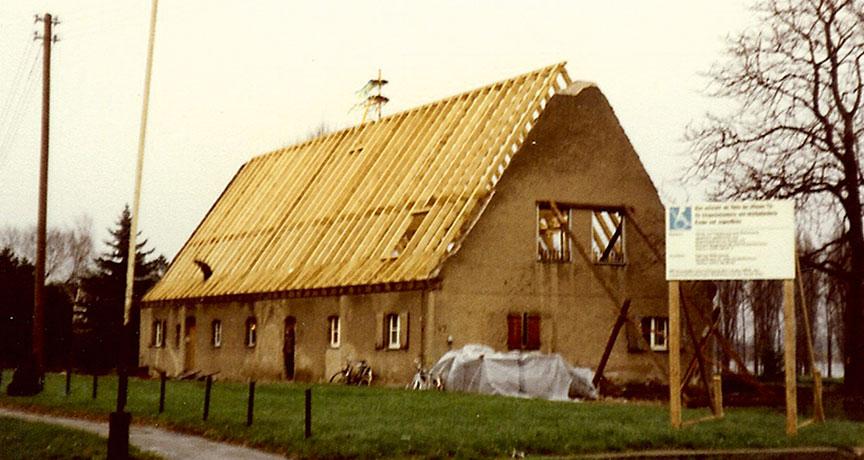 Haus in Bau: Umbau des Jugendhauses